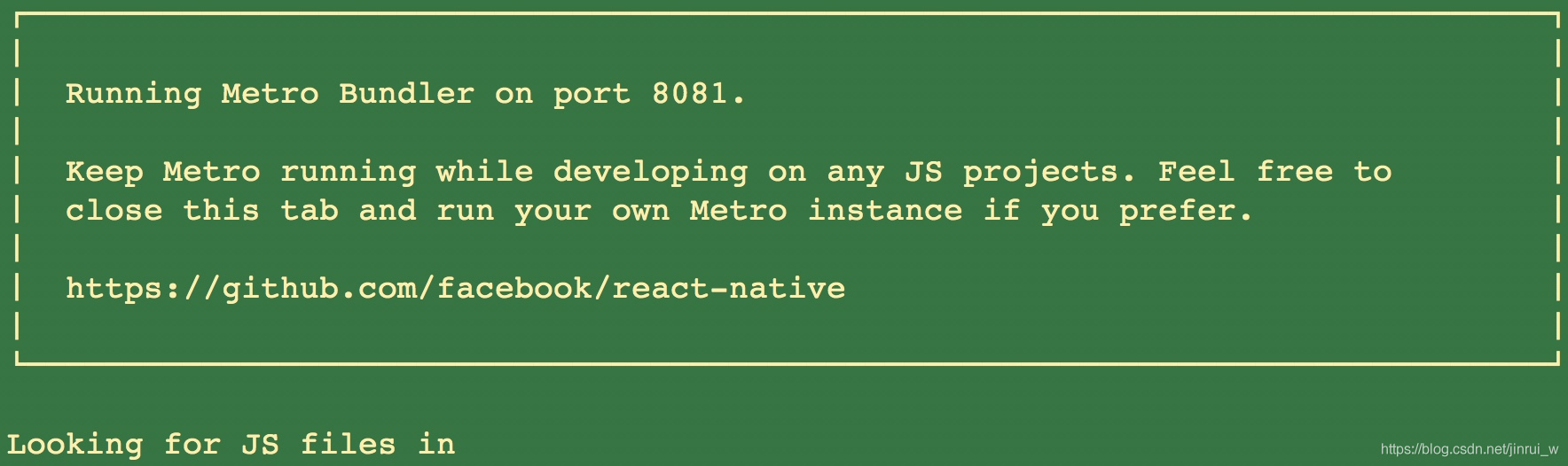 React Native 项目Module `react-native-*` does not exist in the Haste