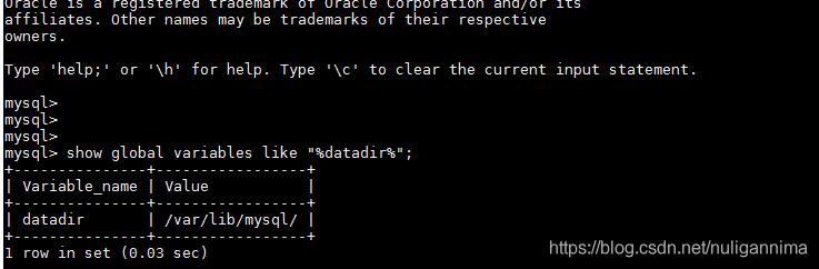 可以看到这是我的数据库文件位置