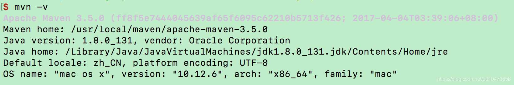 Mac zsh: command not found:mvn - u010473656的专栏- CSDN博客