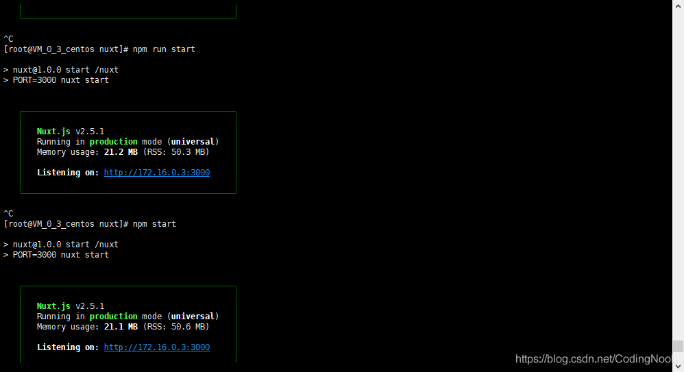 NuxtJS服务端部署过程。 - CodingNoob的博客- CSDN博客