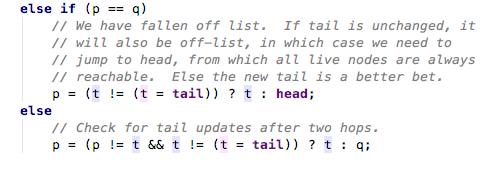 第二次入队q==null不成立