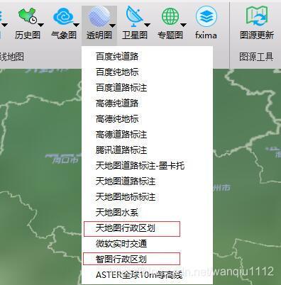 行政区划地图