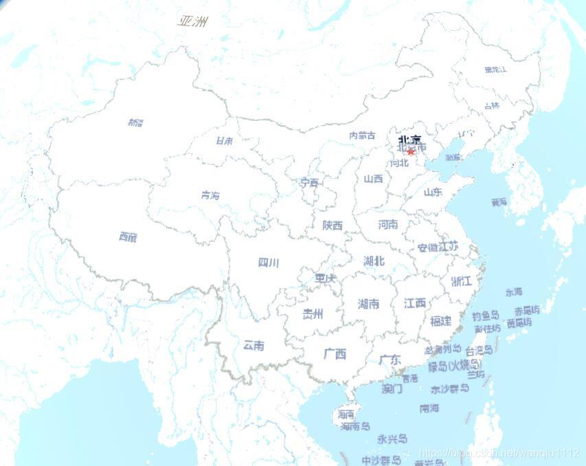 省级行政区划地图