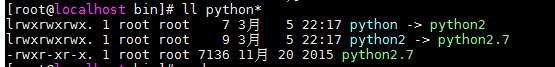 python 3.6 在linux 7中安装,并与python 2.7 共存