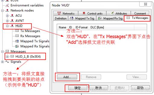图6.2.1  报文与发送节点的关联