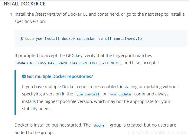 Docker-Centos7安装Docker CE 及在Docker CE中安装RabbitMQ