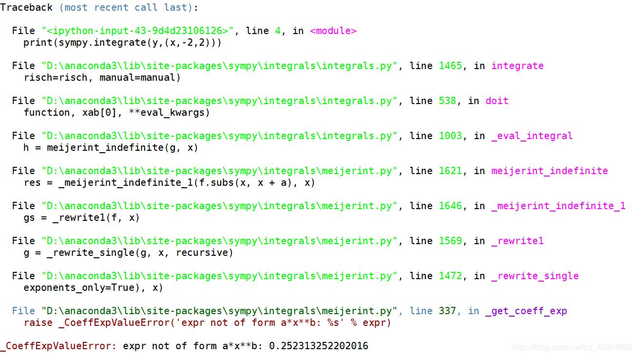 R语言和Python实现分数次幂微积分计算(主要是Python) - qq_40304090的