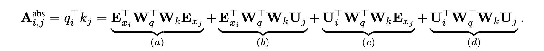 Transformer的attention计算公式分解