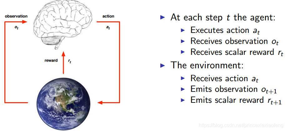 强化学习的个体和环境