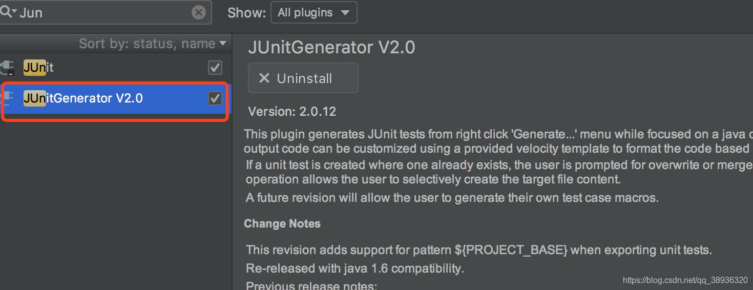 JUnitGenerator