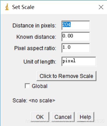 图2.13 比例尺设定