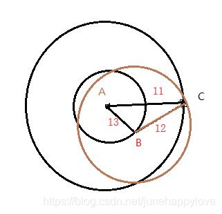 三个坐标点找中心点