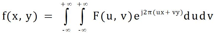 二维离散傅里叶