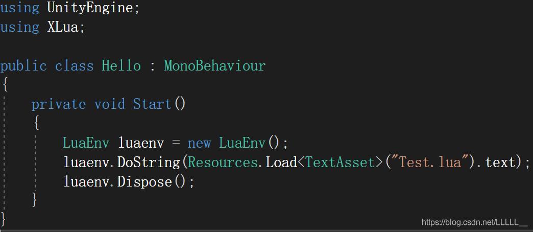 xLua(三)——在Unity中加载Lua文件- 代码天地