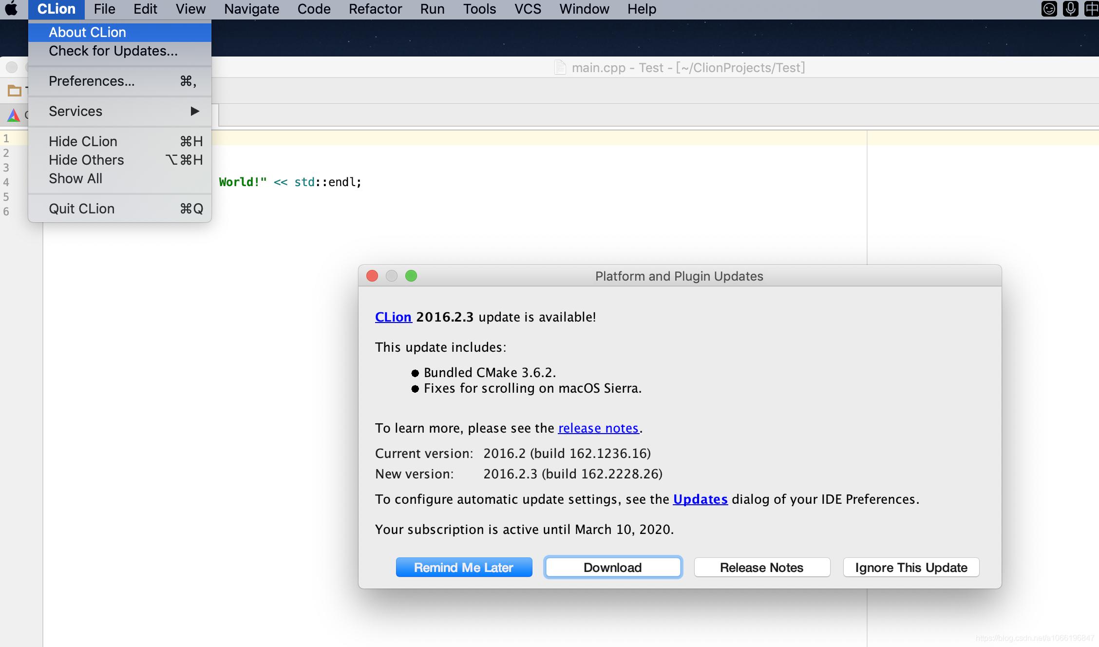 mpi第一站-mac\windows下安装配置clion - 1066196847的博客- CSDN博客