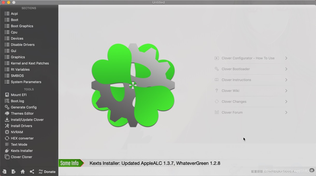 Clover Configurator Mac破解版软件