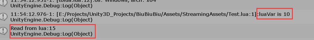 C#访问Lua变量