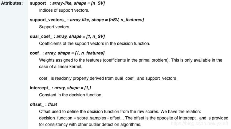离群点(outlier detection)和新颖点(novelty detection)检测与