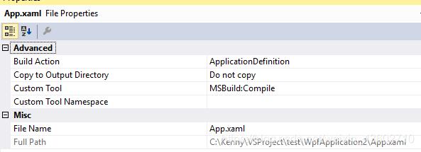 C# WPF Application 的App xaml 和Main() 重写《一