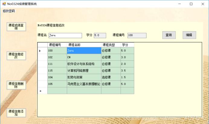 姓名代码查询系统_成绩管理系统(C#版) - cowboy - CSDN博客