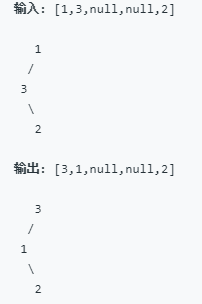 LeetCode】99  Recover Binary Search Tree 解题报告(Python