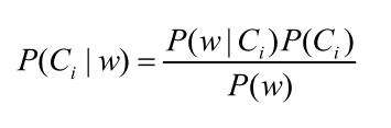 朴素贝叶斯分类公式