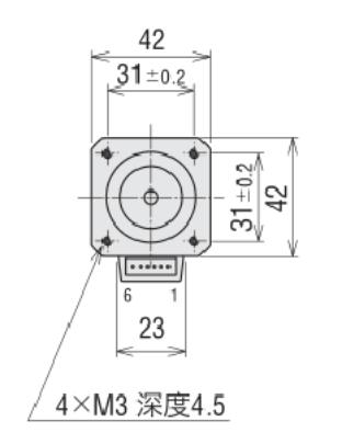 42步进电机结构图