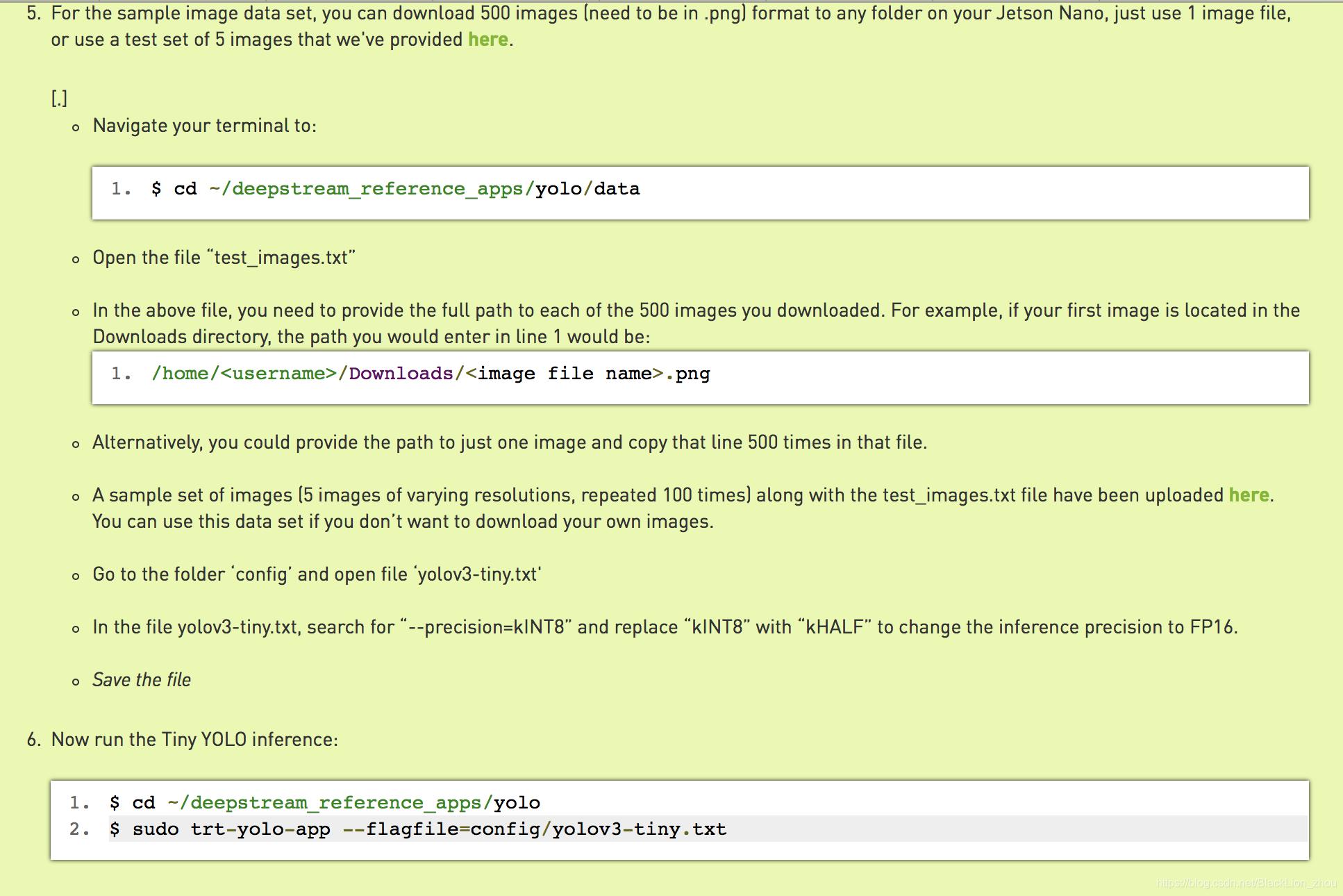 NANO上利用tensorRT的trt-yolo 进行视频检测- BlackLion_zhou的