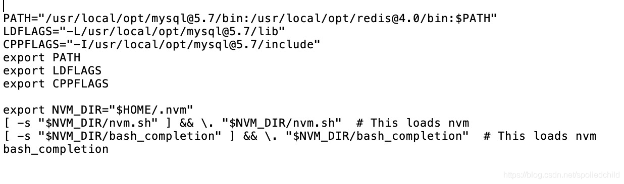 Configure the redis installation path to the Mac environment variable file