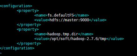 修改conf下core-site.xml
