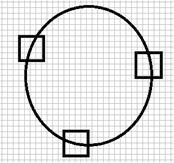 图2-3 随机选点示意图
