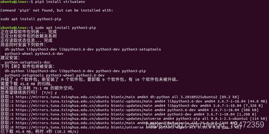安装python3-pip