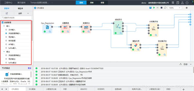 TempoAI丰富的数据源支持