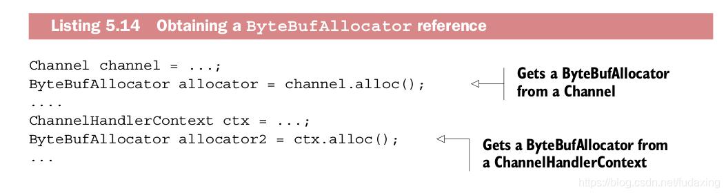 Obtaining a ByteBufAllocator reference