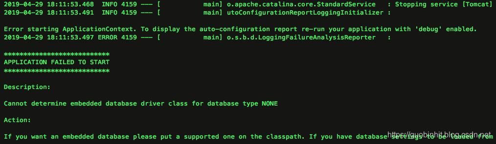 springboot-database-none