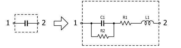 电容实际模型