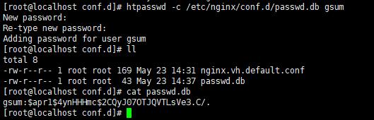 Nginx怎么设置访问Web页面时启用密码验证访问?