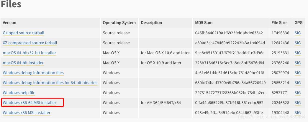Window系统安装Python