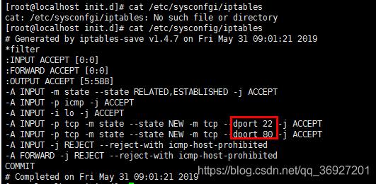 linux查看端口启用