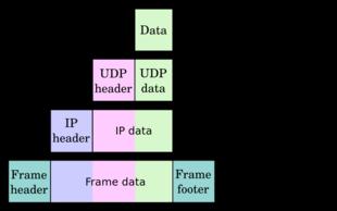 数据包在各个层间的变更