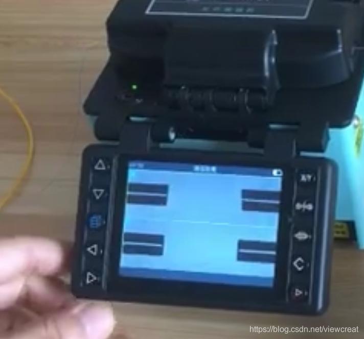 光纤熔接机熔接光纤图