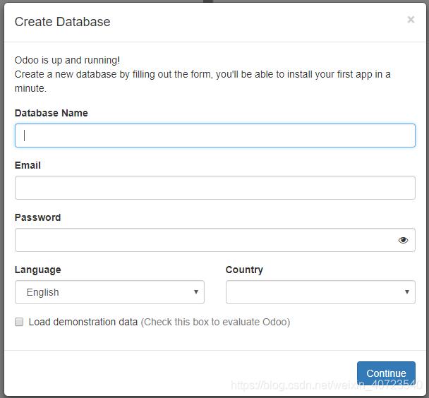 配置数据库登录信息