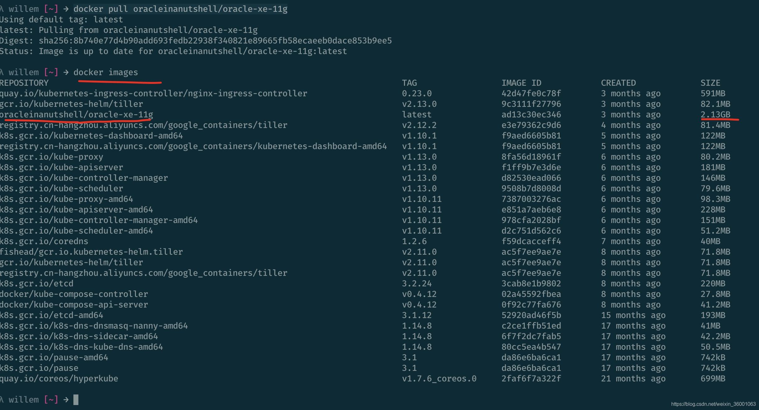 MacOS下使用docker安装oracle-xe-11g - 苏木力格的博客- CSDN博客