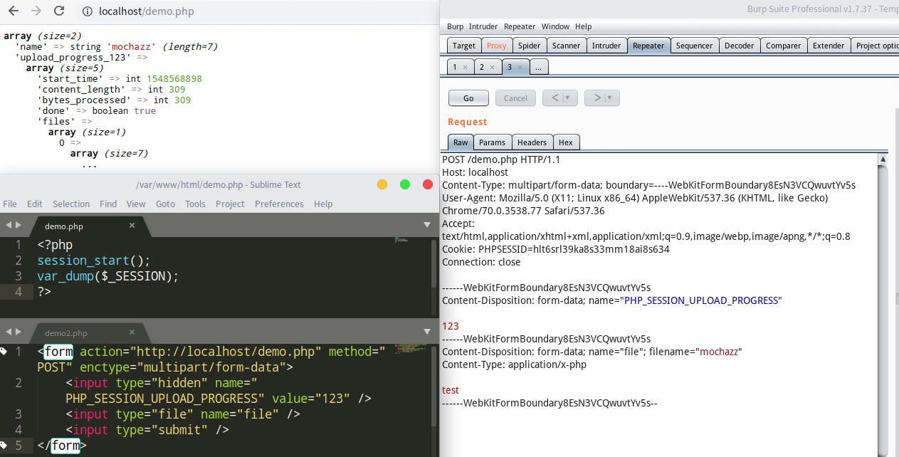 php的session反序列化