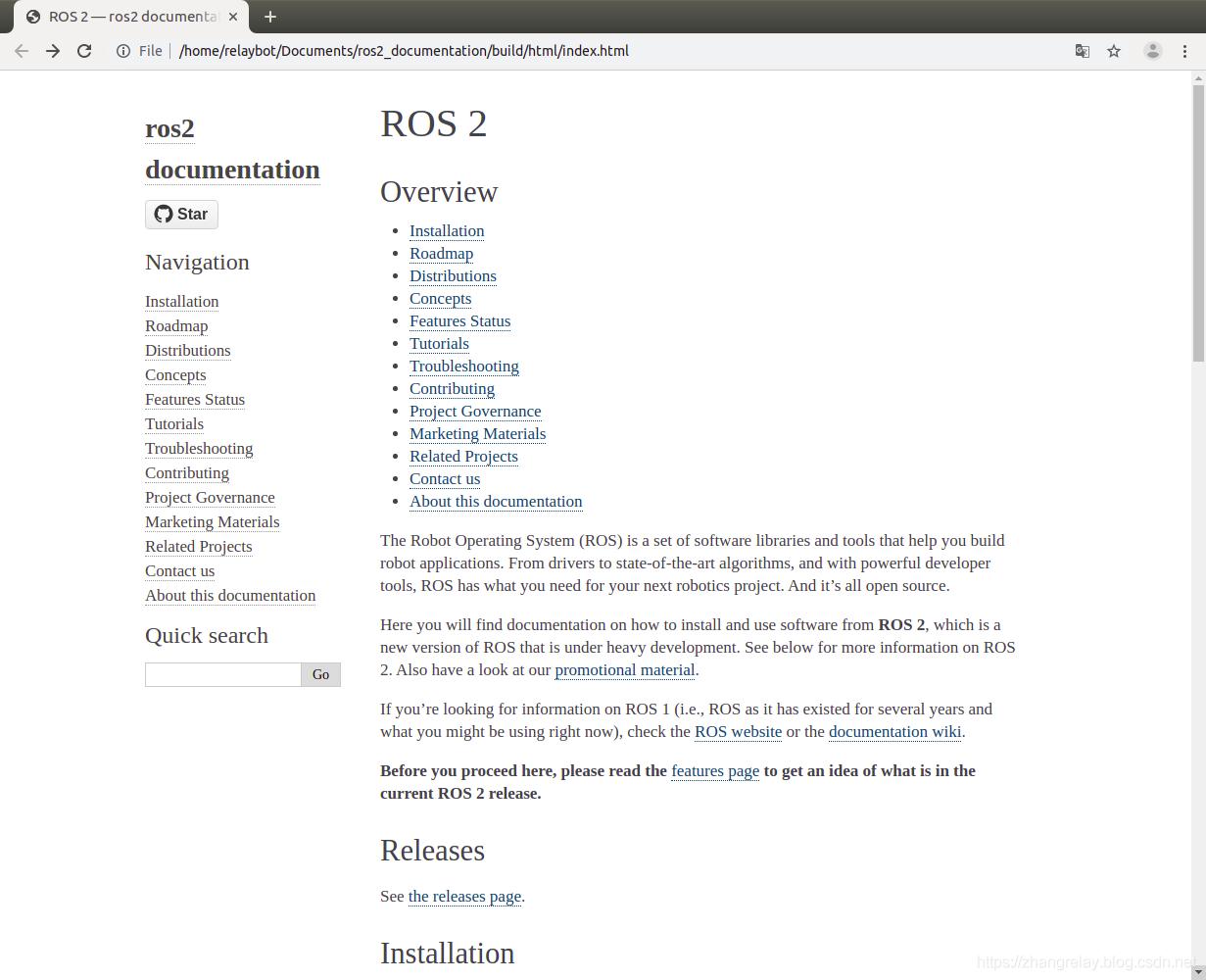 ROS2教程文档使用说明与为什么选择ROS2? - zhangrelay的专栏