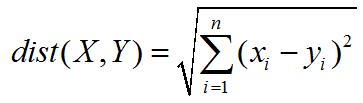 欧式距离公式