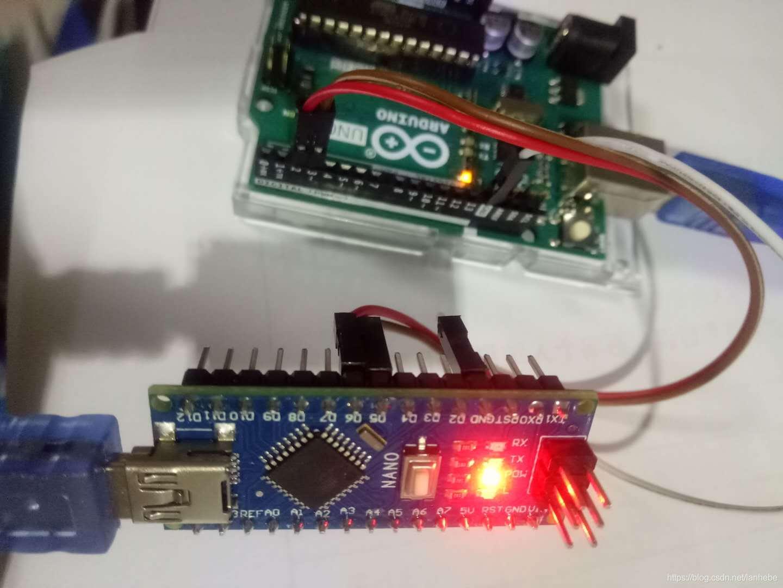 uno和nano主板软串口通信