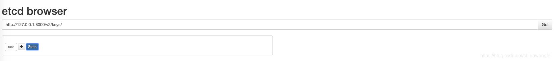 Mac安装Etcd,配置Etcd可视化页面Etcd Browser - chinawangfei的