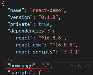Papackage.json homepage