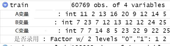 原始数据,dataframe格式